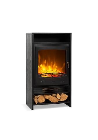 Klarstein Klarstein Bergamo Elektrischer Kamin 900/1800W Thermostat Holzop kaufen