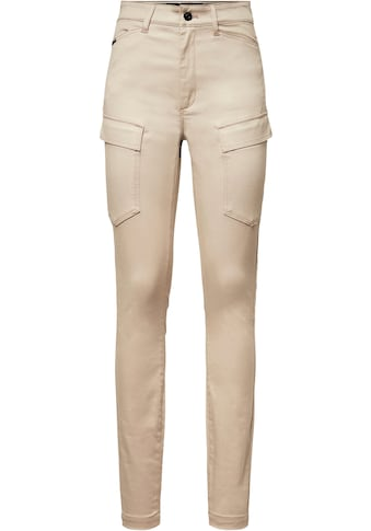 G-Star RAW Cargohose »High G-Shape Cargo Skinny Hose«, tiefe Pattentaschen m. verdeckten Druckknöpfen an den Oberschenkeln kaufen