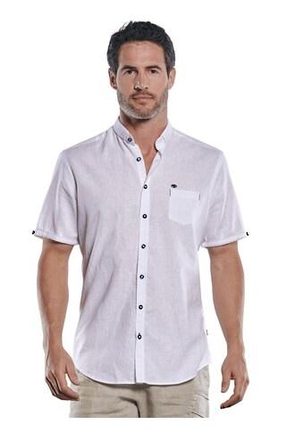 Engbers Leinenhemd, mit dezenten Kontrastdetails kaufen