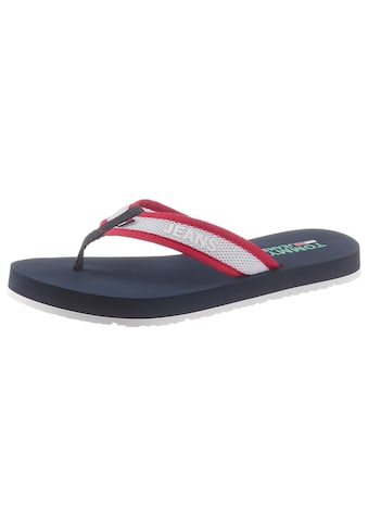 TOMMY JEANS Zehentrenner »RECYCLED MESH BEACH SANDAL« kaufen