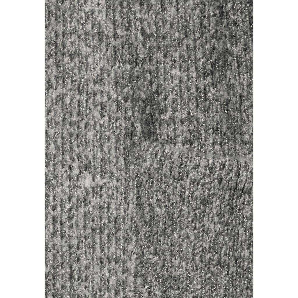 Boysen's Strickjacke »Oversize«, in modischer Longform mit Kapuze