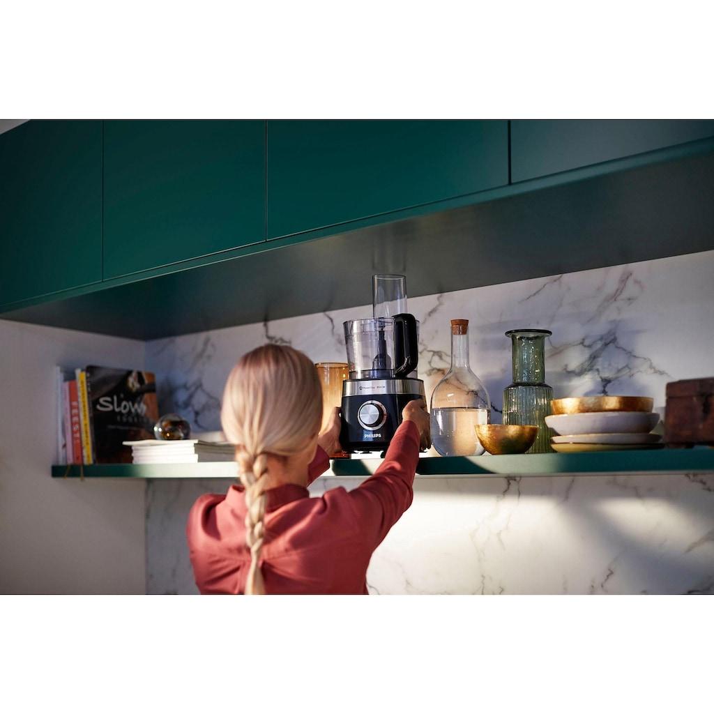 Philips Küchenmaschine »HR7510/10, Viva Collection«, 29 Funktionen, 2-in-1 Schneidescheibe, Zitruspressenaufsatz