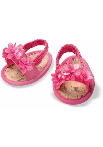 Heless Puppenkleidung »Blüten-Sandalen«, für Puppengröße 38-45 cm kaufen