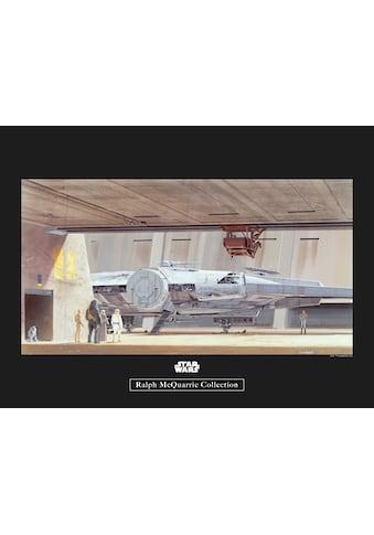 Komar Poster »Star Wars Classic RMQ Mos Eisley Hangar«, Star Wars kaufen