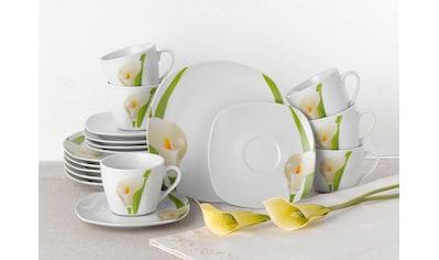 van Well Kaffeeservice »Calla«, (Set, 18 tlg.), Spülmaschinengeeignet kaufen