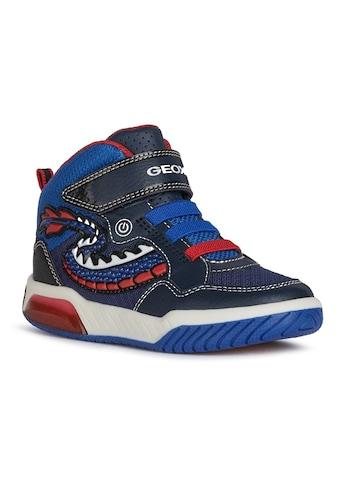 Geox Kids Sneaker »Blinkschuh INEK BOY«, mit bunter Laufsohle kaufen