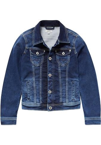 Pepe Jeans Jeansjacke »NEW BERRY«, in elastischer Qualität kaufen