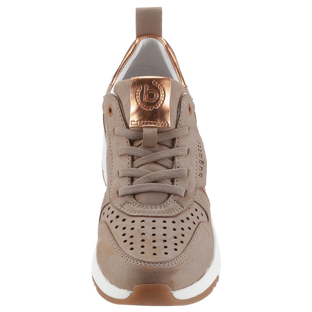 bugatti Slip-On Sneaker »Rise Eco«, mit praktischer Anziehlasche