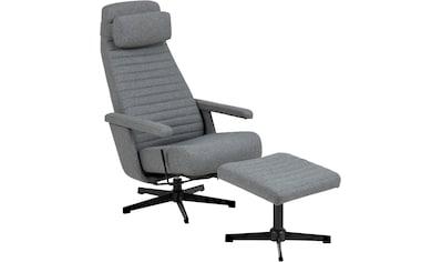 andas TV-Sessel »Thrum«, inklusive Hocker und Kopfkissens, Fernsehsessel, Relaxsessel kaufen