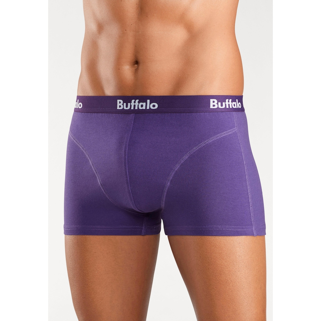 Buffalo Boxer, mit Overlock-Nähten vorn