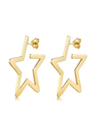 Elli Paar Creolen »Creolen Stern Astro Filigran 925 Silber« kaufen