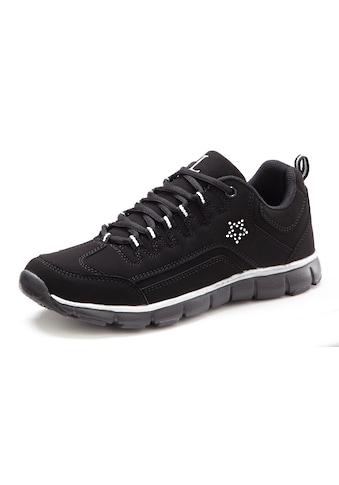 LASCANA Sneaker, mit kleinem Strass-Stein kaufen