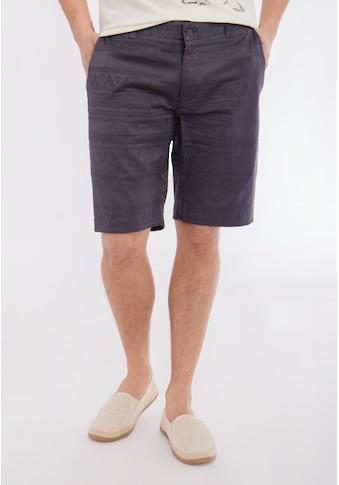 Mexx Shorts, mit tonigem Jacquardmuster und Eingriffstaschen kaufen