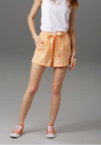 Aniston CASUAL Shorts, mit abnehmbarem Bindeband kaufen