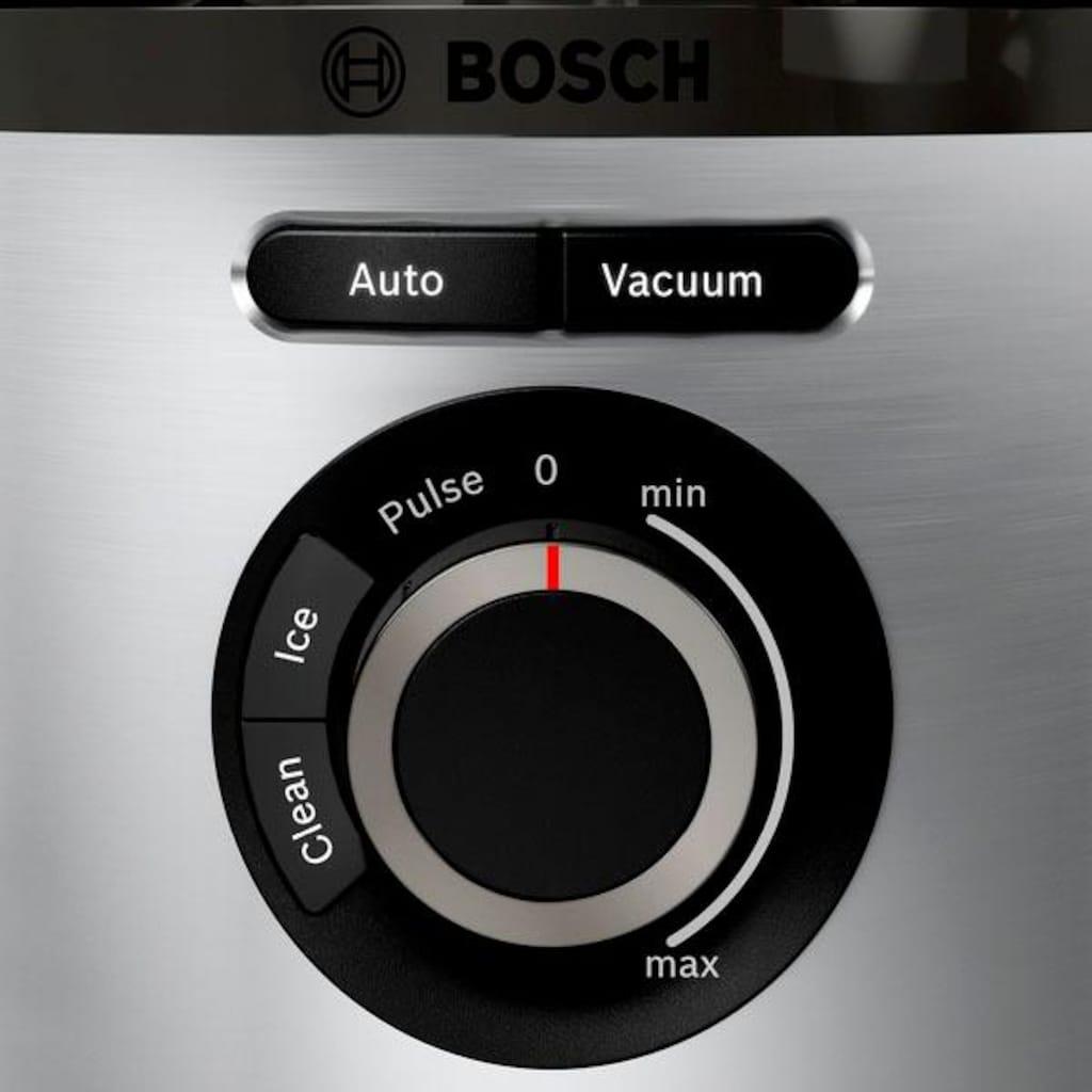 BOSCH Standmixer »VitaMaxx MMBV622M«, 1000 W, Vakuum-Mixer, inkl. 3 Automatikprogrammen, Vakuum-Frischhaltedose und Rezeptbuch