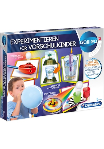 Clementoni® Experimentierkasten »Galileo - Experimentieren für Vorschulkinder«, Made... kaufen