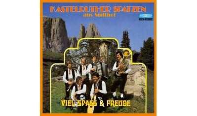 Musik-CD »VIEL SPASS + FREUDE (NEUE / Kastelruther Spatzen« kaufen