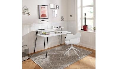 my home Schreibtisch »Lennox«, mit besonderen Funktion des Wireless Charger,... kaufen