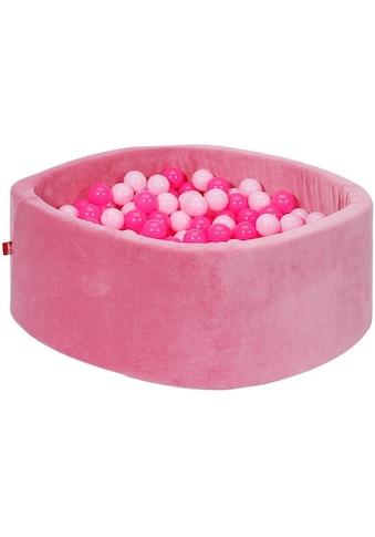 Knorrtoys® Bällebad »Soft, pink«, mit 300 Bällen soft pink; Made in Europe kaufen
