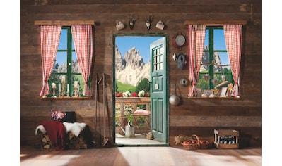Komar Fototapete »Dolomiti«, bedruckt-Wald-geblümt, ausgezeichnet lichtbeständig kaufen