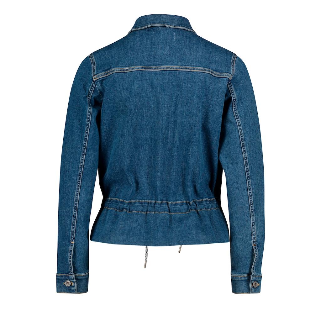 Cartoon Jeansjacke »mit aufgesetzter Brusttasche«