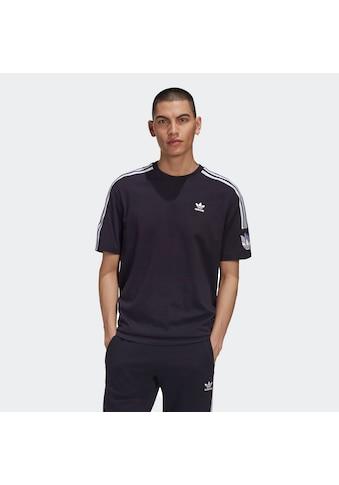 adidas Originals T - Shirt »ADICOLOR 3D TREFOIL 3 - STREIFEN« kaufen