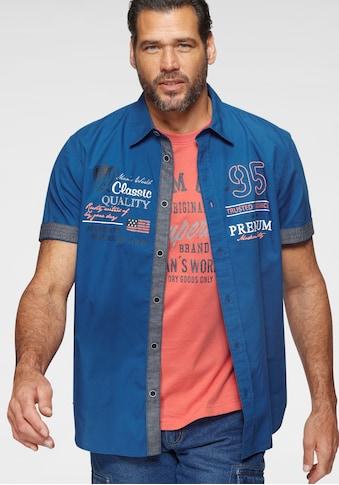 Man's World Kurzarmhemd, (mit T-Shirt) kaufen