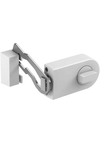 BASI Kastenriegelschloss »KS 500«, Dornmaß 70 mm - weiß (abgerundet), Sperrbügel kaufen