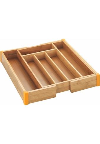 WENKO Besteckkasten »Bambus«, ausziehbar kaufen