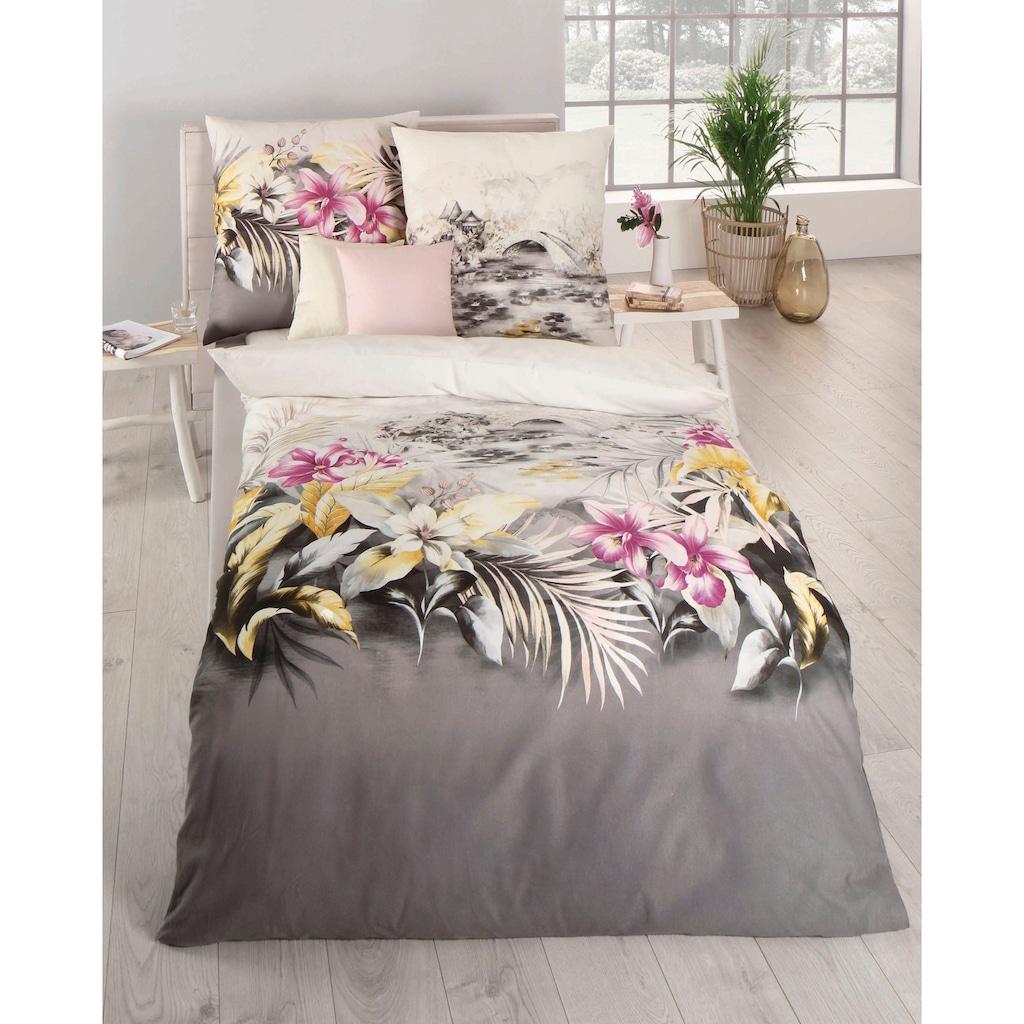 Kaeppel Bettwäsche »Kimono«, im Blumenmuster