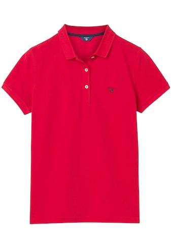 Gant Poloshirt, mit Kontrast Logo-Stickerei auf der Brust kaufen