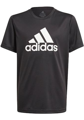 adidas Performance T-Shirt »ADIDAS BOYS DESIGNED TO MOVE BIG LOGO T-SHIRT« kaufen