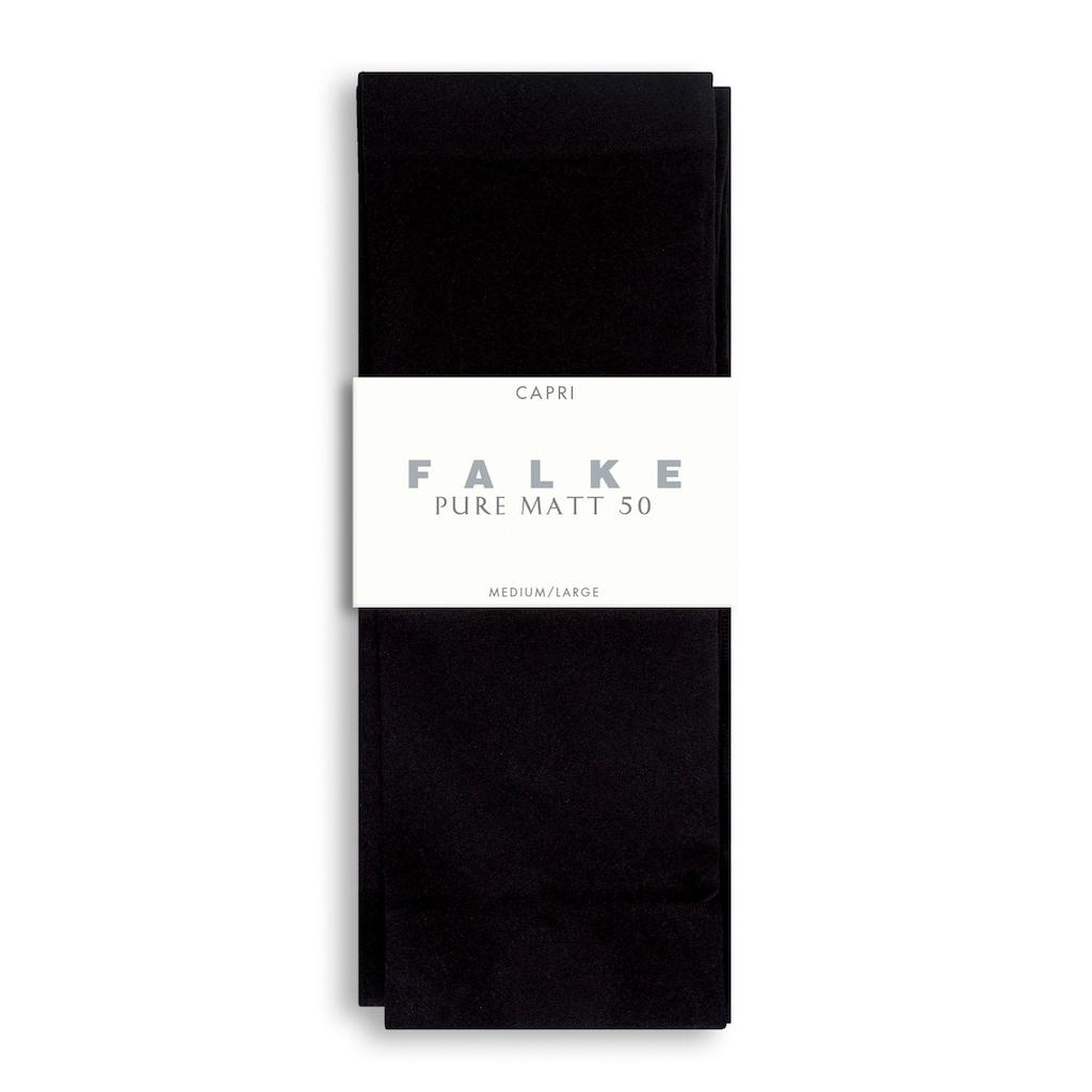 FALKE Feinstrumpfleggings »Pure Matt«, 50 DEN, (1 St.), semi-blickdicht & matt