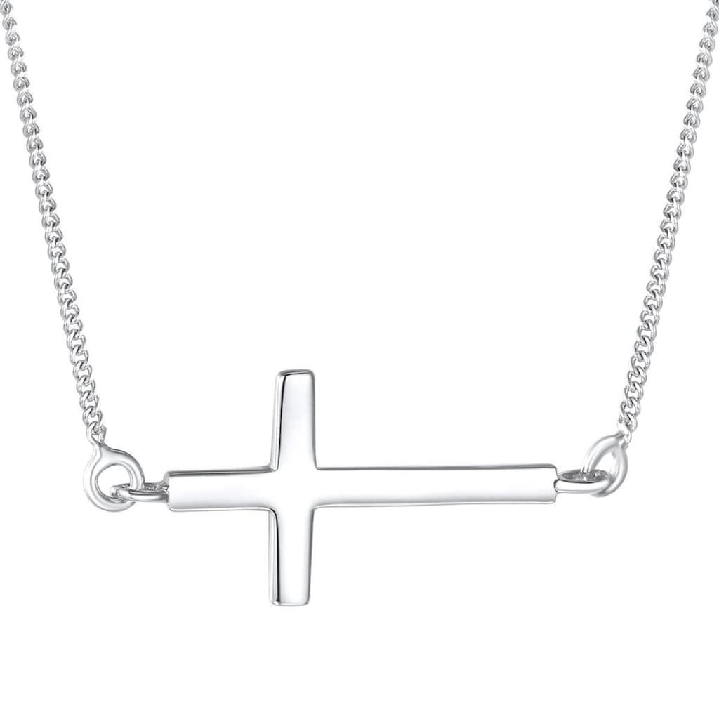 Rafaela Donata Kreuzkette »A1451«, (1 tlg.), aus Sterling Silber