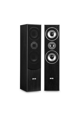 Auna 3 - Wege Bassreflex HiFi Boxen - Paar schwarz »L766« kaufen