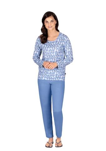 Trigema Schlafanzug, im Schmetterlings-Look kaufen