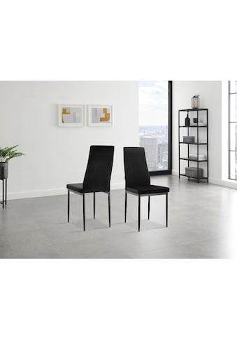INOSIGN 4-Fußstuhl »Remus«, im 1er,2er und 4er Set erhältlich, in unterschiedlichen Bezugsqualitäten und Farbvarianten kaufen