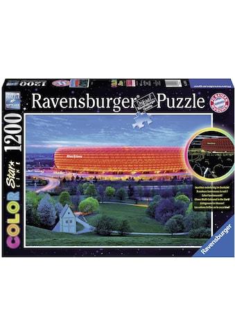 Ravensburger Puzzle »Color Star Line, Allianz Arena«, leuchtet im Dunkeln, Made in... kaufen