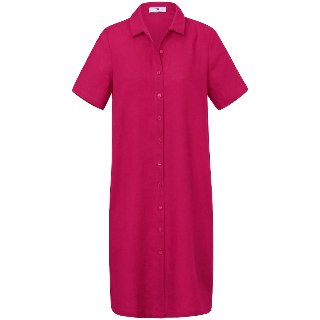 Peter Hahn Abendkleid »Kleid aus 100% Leinen«, Knopf