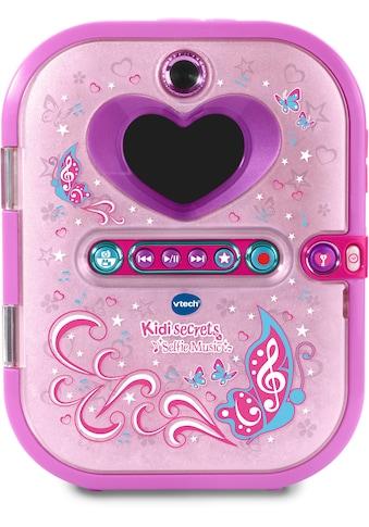 Vtech® Elektronisches Tagebuch »Kidisecrets Selfie Music«, mit Kamera und MP3-Player kaufen