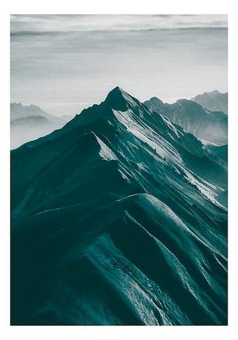 Komar Poster »Mountains Top«, Natur, Höhe: 50cm kaufen
