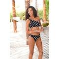 LASCANA Bikini-Hose »Jada«, mit Muschelkante und Pünktchen