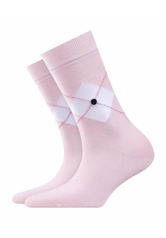 Burlington Socken »Black Argyle«, (1 Paar), mit weicher Baumwolle kaufen