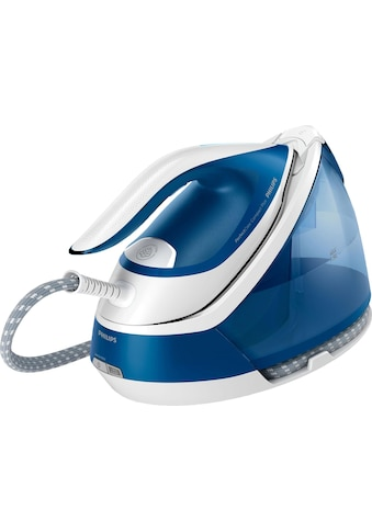 Philips Dampfbügelstation »GC7929/20 PerfectCare Compact Plus«, 2400 W, Optimal TEMP, 6,5 bar Dampfdruck, 450 g/Min. Dampfstoß, blau kaufen