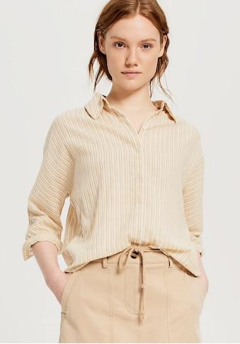 OPUS Hemdbluse, mit Fältelung im Rücken kaufen