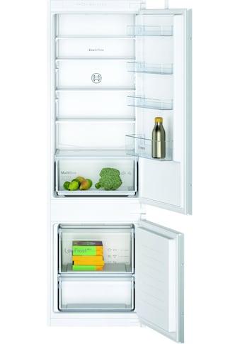 BOSCH Einbaukühlgefrierkombination »KIV87NSF0«, 2 kaufen