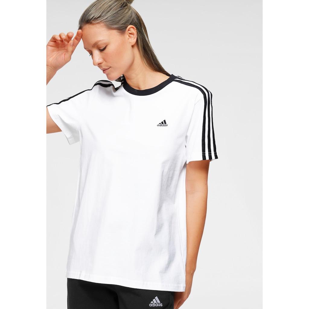 adidas Performance T-Shirt »ESSENTIALS 3-STRIPES T-SHIRT«