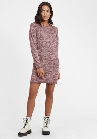 OXMO Strickkleid »Danielle«, Kleid mit Rollkanten kaufen