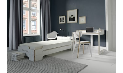 Müller SMALL LIVING Daybett »STAPELLIEGE Komfort-Set«, inklusive 2 Stapelliegen Komfort, 2 Matratzen mit Tessuto Bezug und 2 Lattenrosten, ausgezeichnet mit dem German Design Award - 2019 kaufen