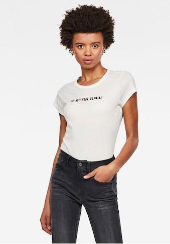 G - Star RAW Rundhalsshirt »Eyben« kaufen